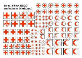 Ambulance Markings Set 1